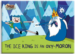 Image for Adventure Time magnet - Oxy-Moron