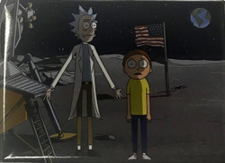 Image for Rick and Morty magnet - Moon