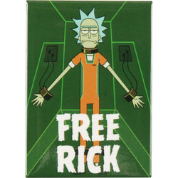 Image for Rick and Morty magnet - Free Rick