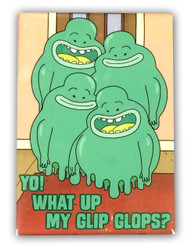Image for Rick and Morty magnet - Glip Glop