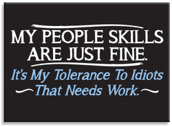 Image for People Skills magnet