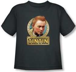 Image for The Adventures of Tintin Metal Toddler T-Shirt