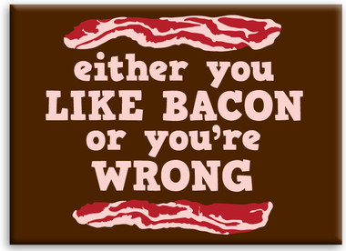Image for Like Bacon or You're Wrong magnet