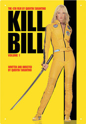 Image for Kill Bill Tin Sign - One Sheet