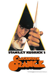 Image for  A Clockwork Orange Tin Sign - Knife