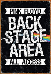 Image for Pink Floyd Tin Sign - Backstage Area