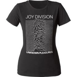 Image for Joy Division Unknown Pleasures Juniors Crew Neck Shirt