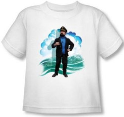 Image for The Adventures of Tintin Haddock Toddler T-Shirt