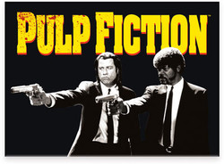 Image for Pulp Fiction magnet - Guns