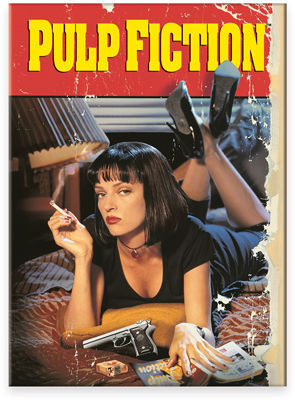 Image for Pulp Fiction magnet - One Sheet