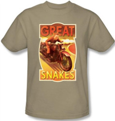 Image for The Adventures of Tintin Great Snakes T-Shirt