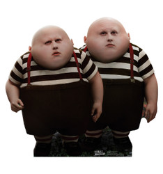 Image for Alice in Wonderland Lifesize Standup - Tweedle Dee & Tweedle Dum