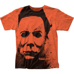 Image for Halloween Subway T-Shirt - Splatter Mask