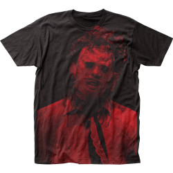 Image for Texas Chainsaw Massacre Subway T-Shirt - Leatherface Big Print