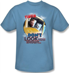 Image for The Adventures of Tintin Don't Look Now T-Shirt