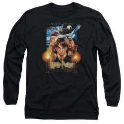 Image for Harry Potter Long Sleeve Shirt - Movie Poster