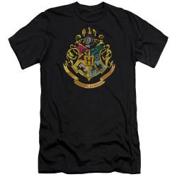 Image for Harry Potter Premium Canvas Premium Shirt - Hogwarts Crest