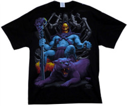 Image Closeup for Masters of the Universe T-Shirt - Skeletor Throne