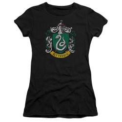 Image for Harry Potter Girls T-Shirt - Slytherin Crest