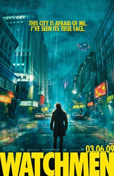 Image for The Watchmen Poster - CIty Street