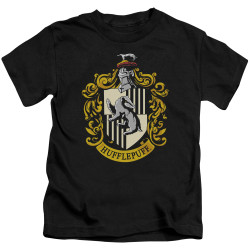 Image for Harry Potter Hufflepuff Crest Kid's T-Shirt