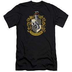 Image for Harry Potter Premium Canvas Premium Shirt - Hufflepuff Crest