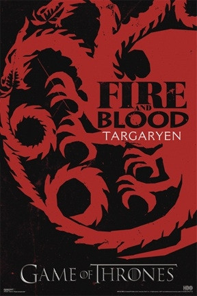 Image for Game of Thrones Poster - Targaryen