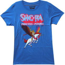 Image for Masters of the Universe Girls T-Shirt - She-Ra and Swiftwind
