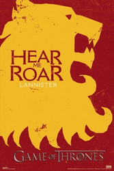 Image for Game of Thrones Poster - Lannister