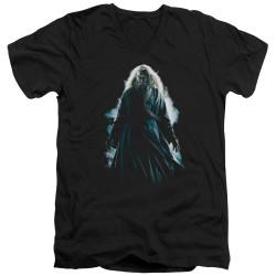 Image for Harry Potter V Neck T-Shirt - Dumbledore Burst