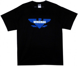 Image Closeup for Wingman T-Shirt