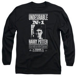 Image for Harry Potter Long Sleeve Shirt - Undesirable No. 1