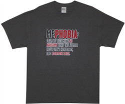 Image Closeup for MePhobia T-Shirt
