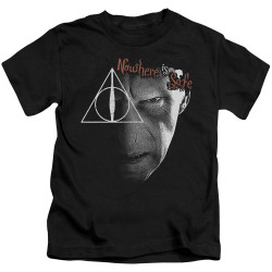 Image for Harry Potter Nowhere is Safe Kid's T-Shirt