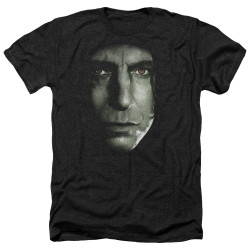 Image for Harry Potter Heather T-Shirt - Snape Head