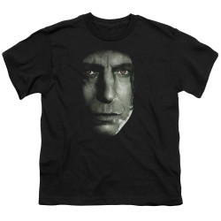 Image for Harry Potter Youth T-Shirt - Snape Head