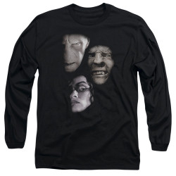 Image for Harry Potter Long Sleeve Shirt - Villian Heads