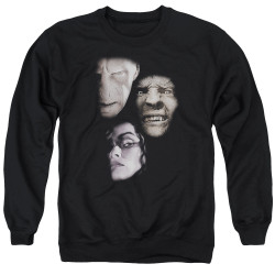 Image for Harry Potter Crewneck - Villian Heads