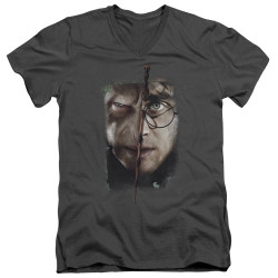 Image for Harry Potter V Neck T-Shirt - It All Ends Here