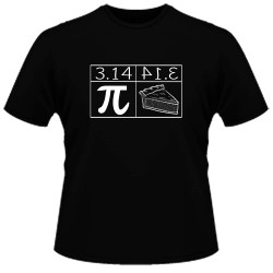 Image Closeup for Pi and Pie T-Shirt