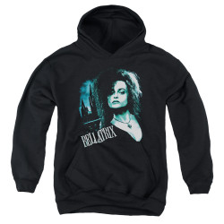 Image for Harry Potter Youth Hoodie - Bellatrix Closeup