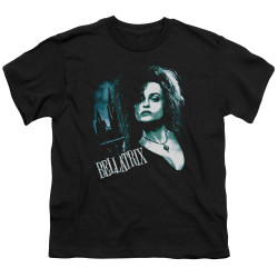 Image for Harry Potter Youth T-Shirt - Bellatrix Closeup