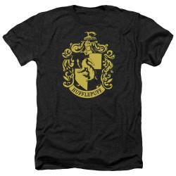 Image for Harry Potter Heather T-Shirt - Hufflepuff Logo