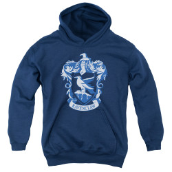 Image for Harry Potter Youth Hoodie - Classic Ravenclaw Crest