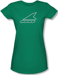 Image for Team Rollerblade Kelly green Girls Shirt