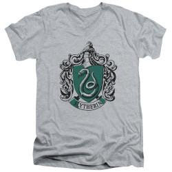 Image for Harry Potter V Neck T-Shirt - Classic Slytherin Crest