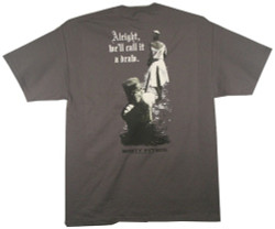Monty Python T-Shirt - the Black Knight Always Triumphs Image 3
