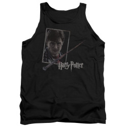 Image for Harry Potter Tank Top - Harry's Wand Portrait