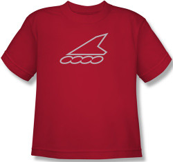 Image for Team Rollerblade red-silver Youth T-Shirt