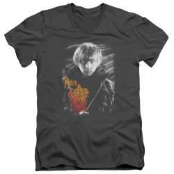Image for Harry Potter V Neck T-Shirt - Ron Portrait